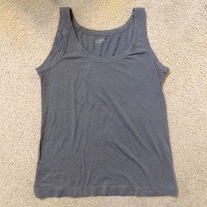 Tops - Grey Loft Cotton Tank Size Small